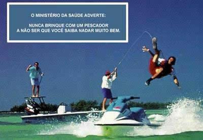 Ministério da Pesca Adverte