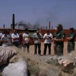 Ibama incinera redes pesca
